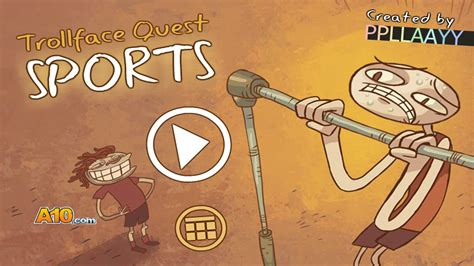 TROLLFACE QUEST 6! SPORTS!   YouTube