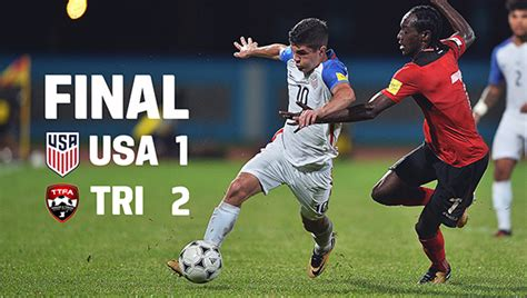 U.S.A. Soccer Fails To Qualify For 2018 World Cup After ...