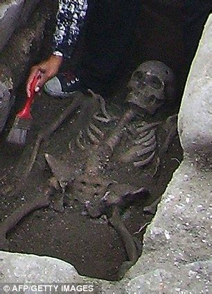 Unearthed: The Medieval  vampire  skeleton buried with an ...