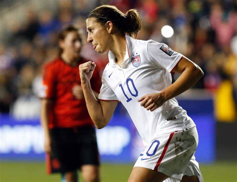 USWNT dominantly beats Mexico to qualify for 2015 Women's ...