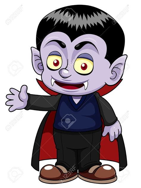 Vampire clipart friendly   Pencil and in color vampire ...