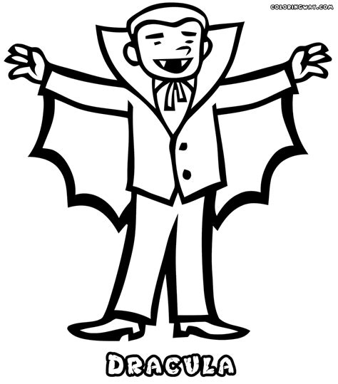 Vampire coloring pages | Coloring pages to download and print