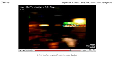 Watch YouTube Videos in a Clean Clutter Free Environment