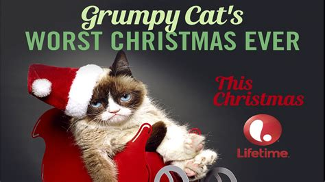 WE @ The Movies   Grumpy Cat s Worst Christmas Ever   YouTube