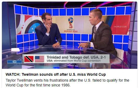 Wednesday/ no USA! in World Cup 2018 – Willem s Planet