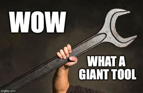 What a Giant Tool   Imgflip