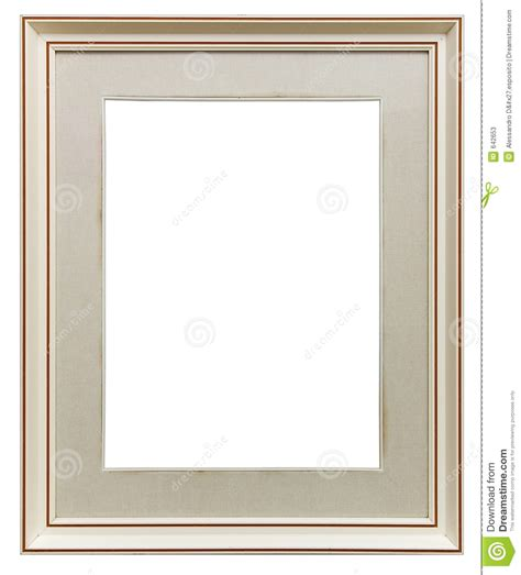 White wooden frame stock image. Image of goldleaf, deco ...
