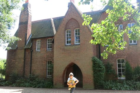 William Morris s  Red House  at Bexleyheath in England ...
