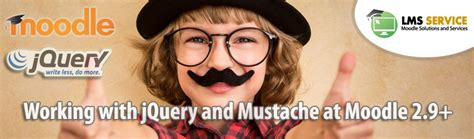 Working with jQuery and Mustache at Moodle 2.9